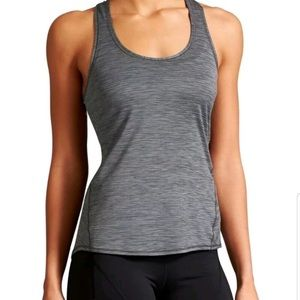 Athleta Shadow Stripe Racerback Tank Top